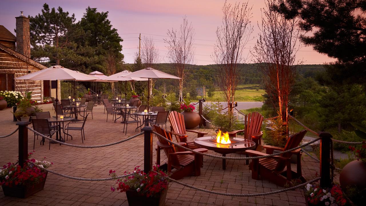 Top Huntsville Restaurants include Antlers at Deerhurst Resort