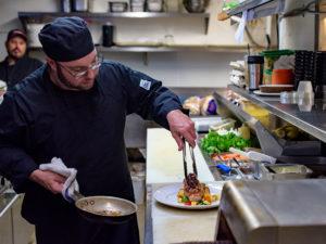 Main Street Local Kitchen Chef Ryan in the Kitchen