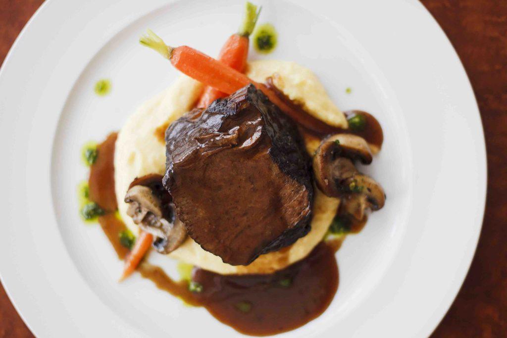 The Artisan House Huntsville meal