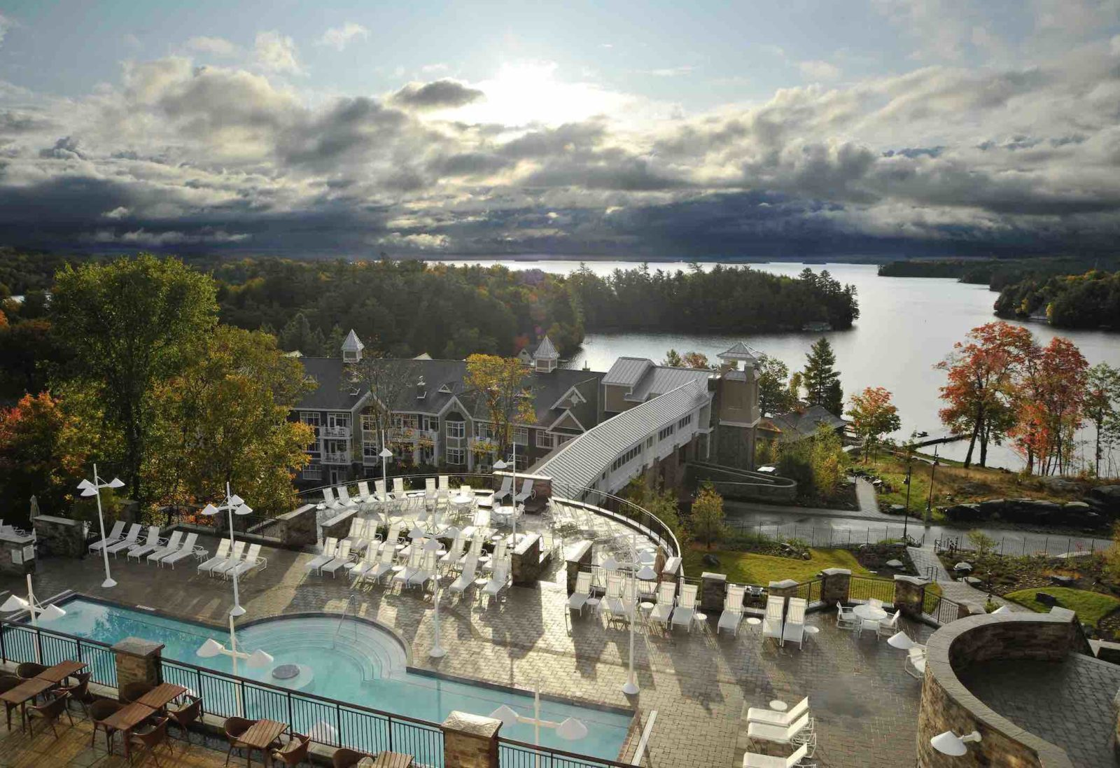 JW Mariott Resort aerial view
